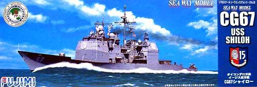 タイコンデロガ級 イージス巡洋艦 CG67 シャイロープラモデル(フジミ1/700 シーウェイモデルNo.058)商品画像