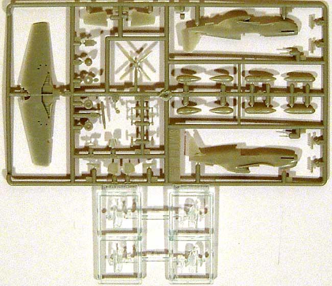 P-51B パイオニア マスタングプラモデル(SWEET1/144スケールキットNo.016)商品画像_2