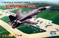 トランペッター1/144 エアクラフトシリーズスホーイ Su-47 ベルクート