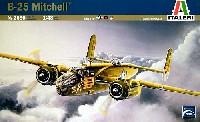 イタレリ1/48 飛行機シリーズノースアメリカン B-25C/D ミッチェル