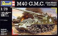 レベル1/76 ミリタリーM40 G.M.C. (Gun Motor Carriage)