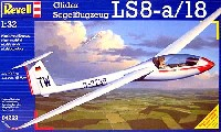 レベル1/32 Aircraftグライダー LS8-a/18