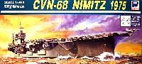 ピットロード1/700 スカイウェーブ M シリーズアメリカ海軍 原子力航空母艦 CVN-68 ニミッツ 1975 FCD (F-14&零戦21型付)