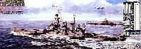 アメリカ海軍 ノースカロライナ級戦艦 BB-55 ノースカロライナ 1944 エッチング付