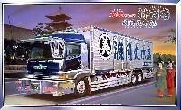アオシマ1/32 大型デコトラ林商店 渡月丸 (ロング保冷車)