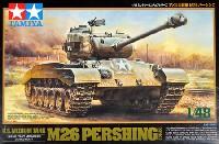 タミヤ1/48 ミリタリーミニチュアシリーズアメリカ戦車 M26 パーシング