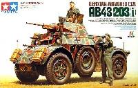 タミヤタミヤ イタレリ シリーズドイツ装甲偵察車 AB43