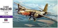 ハセガワ1/72 飛行機 EシリーズB-26B/C マローダー (アメリカ陸軍 爆撃機)
