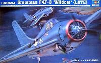 トランペッター1/32 エアクラフトシリーズグラマン F4F-3 ワイルドキャット (後期型)