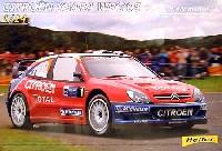 エレール1/24 カーモデルシトロエン クサラ WRC '05 Rally d' Allemagne