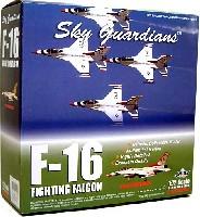 ウイッティ・ウイングス1/72 スカイ ガーディアン シリーズ (現用機)F-16 ファイティングファルコン USAF サンダーバーズ