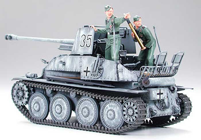 ドイツ対戦車自走砲 マーダー 3 (7.62cm Pak36搭載型)プラモデル(タミヤ1/35 ミリタリーミニチュアシリーズNo.248)商品画像_3