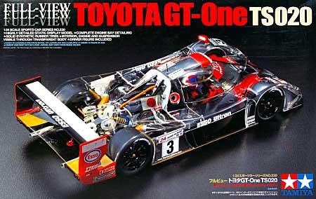 フルビュー トヨタ GT-One TS020プラモデル(タミヤ1/24 スポーツカーシリーズNo.230)商品画像