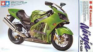 カワサキ ニンジャ ZX-12Rプラモデル(タミヤ1/12 オートバイシリーズNo.084)商品画像