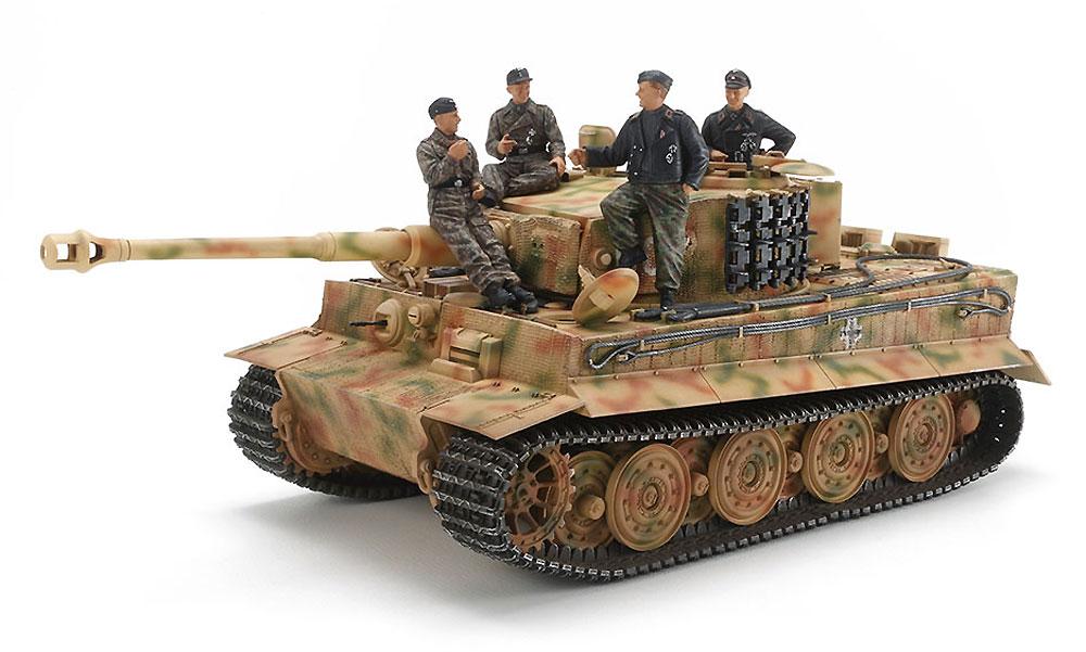 ドイツ タイガー 1 後期型 エース搭乗車セットプラモデル(タミヤスケール限定品No.25401)商品画像_2