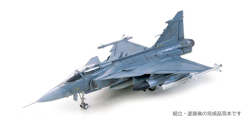 JAS-39A グリペンプラモデル(タミヤ1/72 ウォーバードコレクションNo.059)商品画像_3
