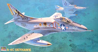 A-4C スカイホークプラモデル(ハセガワ1/48 飛行機 PTシリーズNo.PT022)商品画像