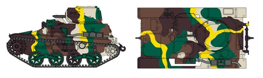 帝国陸軍 九四式軽装甲車 (TK)プラモデル(ファインモールド1/35 ミリタリーNo.FM017)商品画像_1