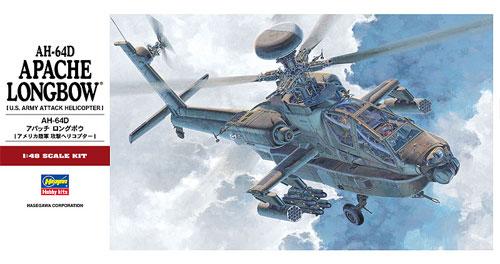 AH-64D アパッチ ロングボウプラモデル(ハセガワ1/48 飛行機 PTシリーズNo.PT023)商品画像
