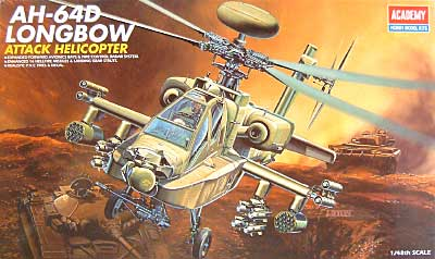AH-64D アパッチ ロングボウプラモデル(アカデミー1/48 AircraftsNo.12268)商品画像