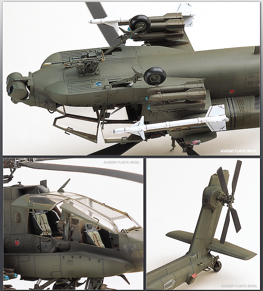 AH-64A アパッチ MSIPプラモデル(アカデミー1/48 AircraftsNo.12262)商品画像_3