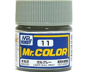 ガルグレー (半光沢) (C-11)塗料(GSIクレオスMr.カラーNo.C-011)商品画像
