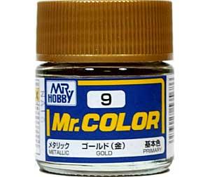 ゴールド (金) (メタリック) (C-9)塗料(GSIクレオスMr.カラーNo.C-009)商品画像