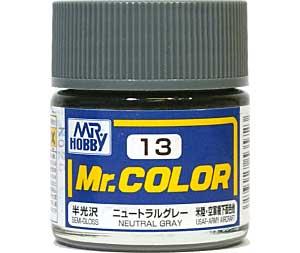 ニュートラルグレー (半光沢) (C-13)塗料(GSIクレオスMr.カラーNo.C-013)商品画像
