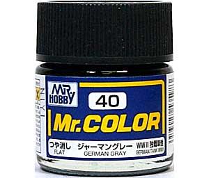 ジャーマングレー (つや消し) (C-40)塗料(GSIクレオスMr.カラーNo.C-040)商品画像