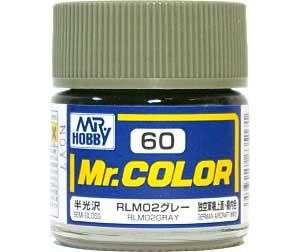 RLM02 グレー (半光沢) (C-60)塗料(GSIクレオスMr.カラーNo.C-060)商品画像