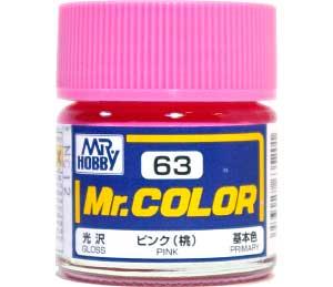 ピンク (桃) (光沢) (C-63)塗料(GSIクレオスMr.カラーNo.C-063)商品画像