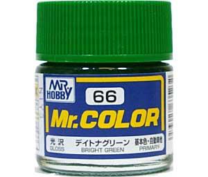 デイトナグリーン (光沢) (C-66)塗料(GSIクレオスMr.カラーNo.C-066)商品画像