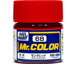 モンザレッド (光沢) (C-68)塗料(GSIクレオスMr.カラーNo.C-068)商品画像