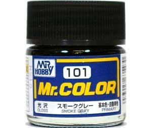スモークグレー (光沢) (C-101)塗料(GSIクレオスMr.カラーNo.C-101)商品画像