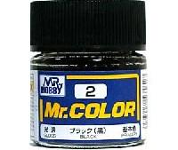 ブラック (黒) (光沢) (C-2)