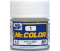ホワイト (白) (光沢) (C-1)