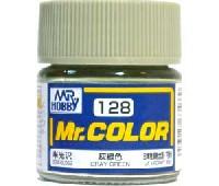 灰緑色 (半光沢) (C-128)