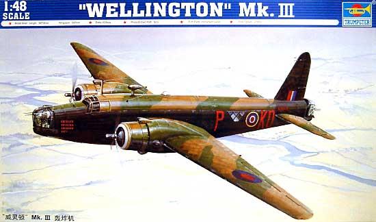 ウェリントン Mk.3プラモデル(トランペッター1/48 エアクラフト プラモデルNo.02823)商品画像