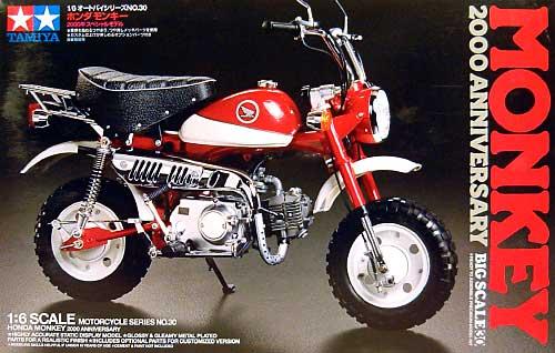 ホンダ モンキー 2000年 スペシャルモデルプラモデル(タミヤ1/6 オートバイシリーズNo.030)商品画像