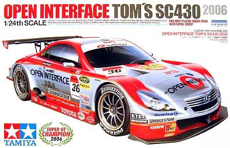 オープンインターフェイス トムス SC430プラモデル(タミヤ1/24 スポーツカーシリーズNo.293)商品画像
