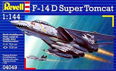 F-14D スーパートムキャットプラモデル(レベル1/144 飛行機No.04049)商品画像