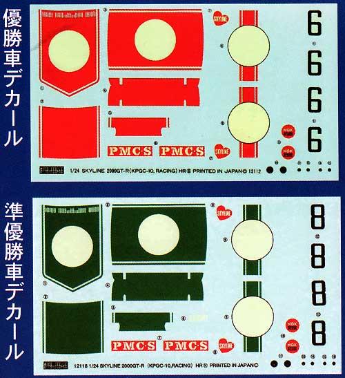 ニッサン スカイライン HT GT-R (KPGC10) '71 日本GP 1/2位 2in1キットプラモデル(フジミ1/24 ヒストリックレーシングカー シリーズNo.020)商品画像_1