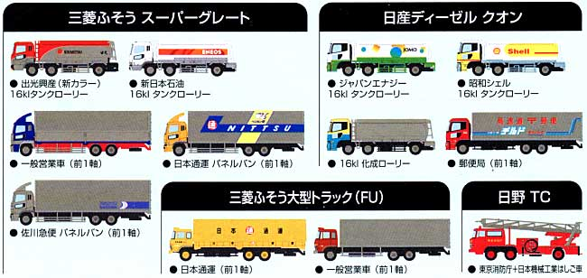 ザ・トラックコレクション 第3弾ミニカー(トミーテックザ・トラックコレクションNo.003)商品画像_1
