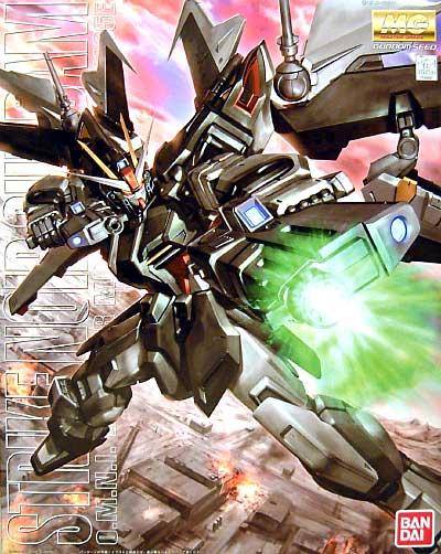 GAT-X105E ストライクノワールガンダムプラモデル(バンダイMG (マスターグレード)No.0148997)商品画像