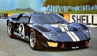 フジミ1/24 ヒストリックレーシングカー シリーズフォード GT40 Mk.2 '66 ル・マン優勝車