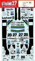 スタジオ27F-1 オリジナルデカールウイリアムズ FW07 1979/1980