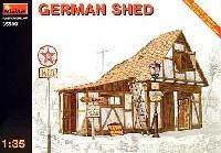 ミニアート1/35 ビルディング&アクセサリー シリーズドイツの小屋