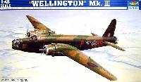 トランペッター1/48 エアクラフト プラモデルウェリントン Mk.3