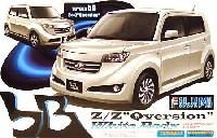 フジミ1/24 カーモデル(定番外・限定品など)トヨタ bB Z/Z Qversion ホワイトボディー