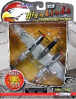 P-38J ライトニング PUDGY 4 431ST FS USAAF トミー・マクガイア中佐機